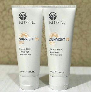 Nu Skin Sunright Spf35 Sunblock