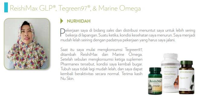 reishiMAX GLp nu skin pharmanex